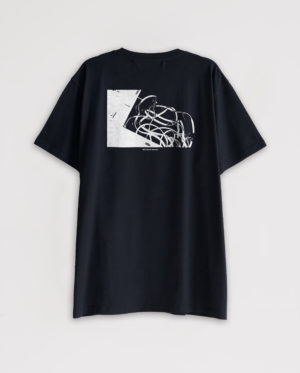 #000 X GOLDSMITHS BLACK T-SHIRT #8BENPIMLOTT
