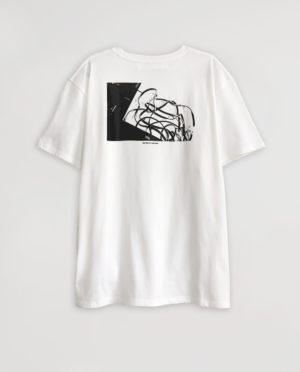 #000 X GOLDSMITHS WHITE T-SHIRT #8BENPIMLOTT